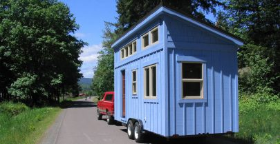Alsek Tiny House Exterior
