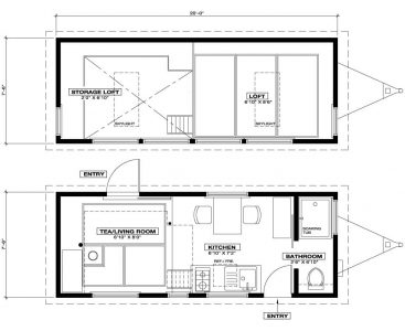 Tiny Tea House Floor Plan