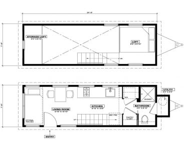 Unita Tiny House Floor Plan