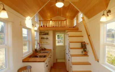 Tiny Cottage Interior
