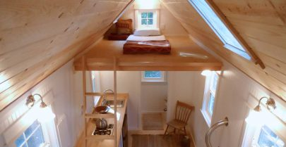 Siskiyou interior sleeping loft
