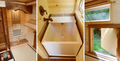 Tea House Cottage Bath Tub