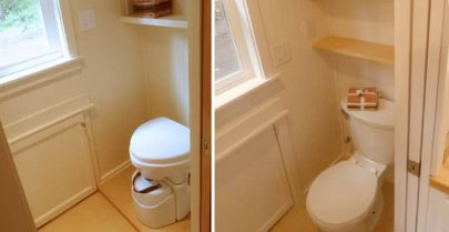 Ynez cottage toilet options