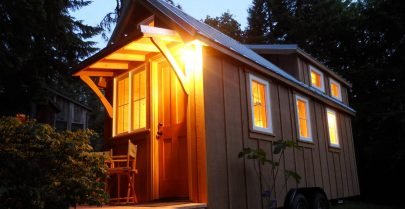 Ynez Tiny House Exterior Lighting