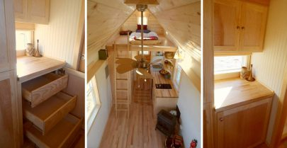 Ynez Tiny House Interior View