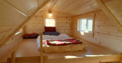 Ynez Tiny House Sleeping Loft