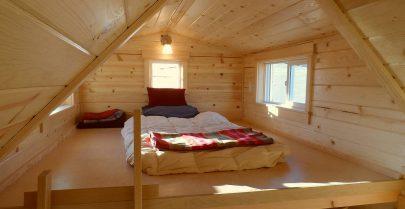 Ynez Tiny House Sleeping Loft